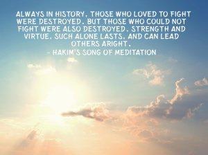 Hakim's Song of Meditation