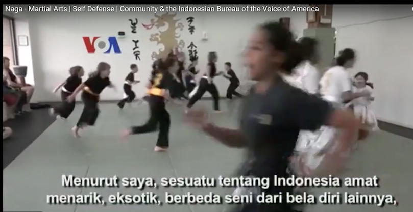 The Voice of America Indonesian Bureau Film About Naga