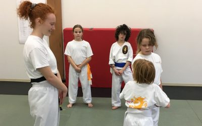Black Belt Essay – Mas Sarah