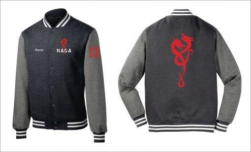 naga varsity jacket