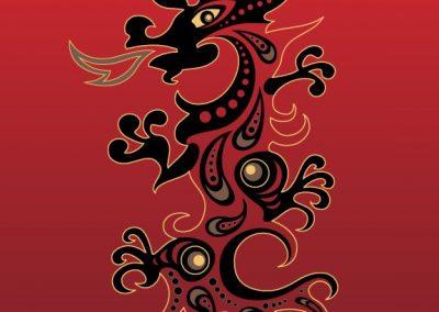 Naga Colorful Dragon