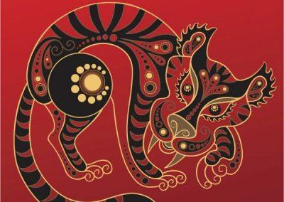 Naga graphic tiger