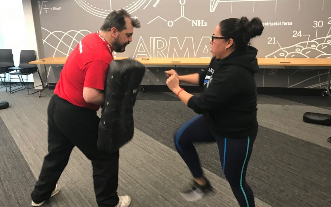 Corporate Self Defense Workshop | Nike Portland, Oregon