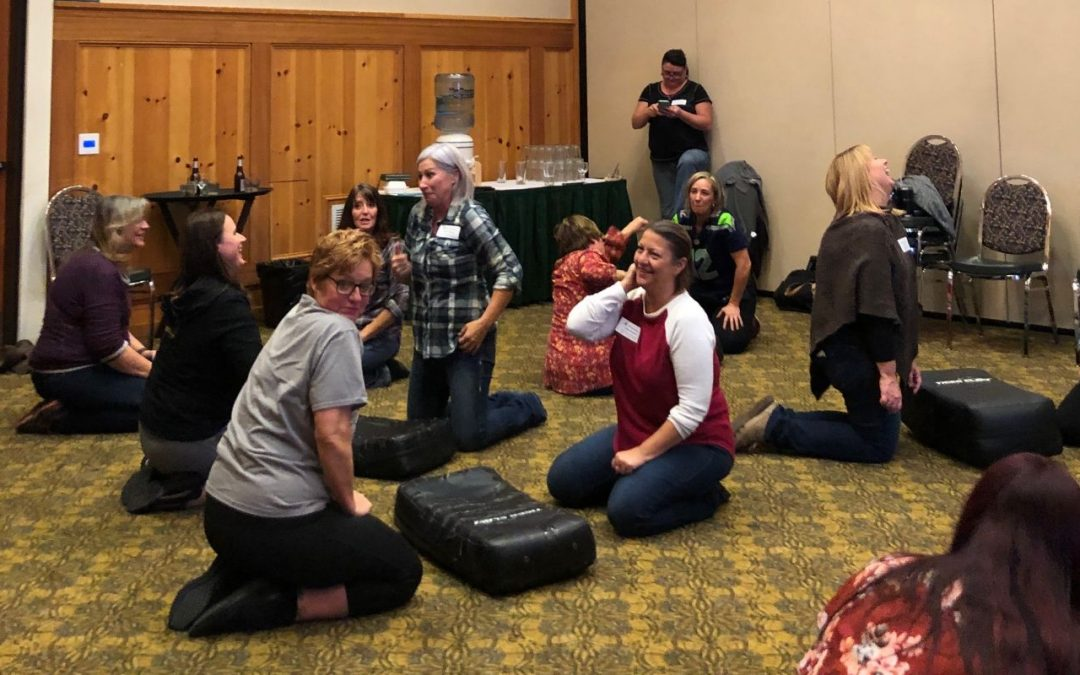 Corporate Self Defense Workshop | Weyerhaeuser, Vancouver, WA